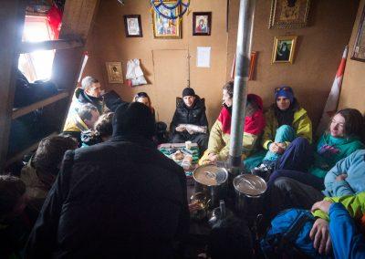 Чаепитие с монахами