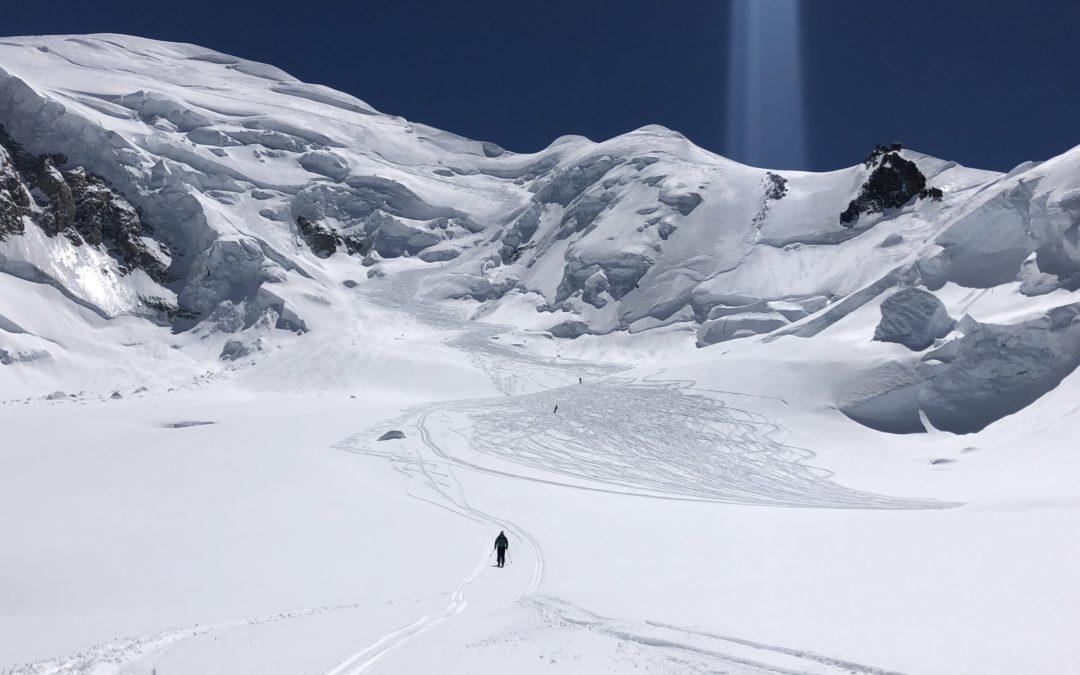 Скитур-восхождение на Монблан  (4810 м)